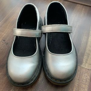 Doc Marten Silver Mary Jane'